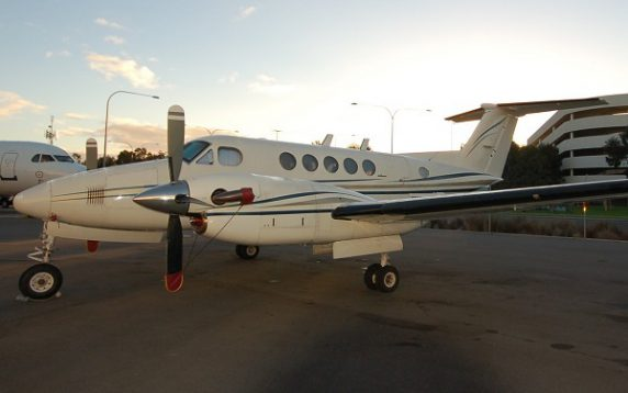 1977 BEECHCRAFT KINGAIR 200 BLACKHAWK POWERED