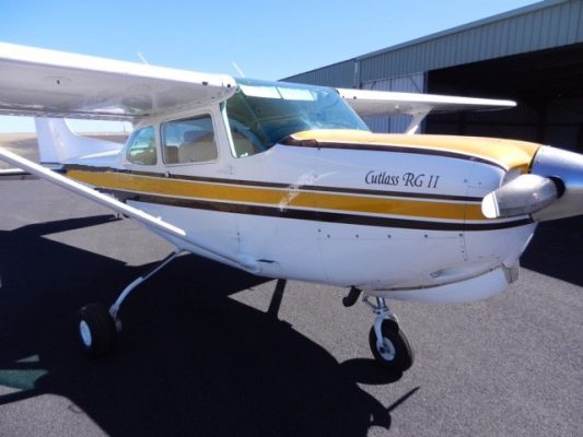 1981 CESSNA 172RG CUTLASS 180 HP    SOLD