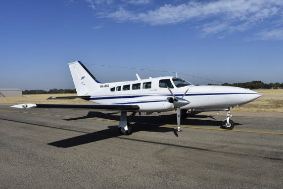 SOUTH AUSTRALIA POLICE 1985 CESSNA 402C UTILILINER            SOLD